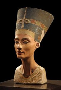 Bust of Nefertiti, Courtesy of | The Egyptian Museum of Berlin