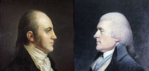 The Democratic-Republicans (From Left: Burr, Jefferson) | Courtesy of Smithsonian.com