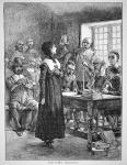 Anne Hutchinson on trial | Massachusetts | courtesy of Flickr