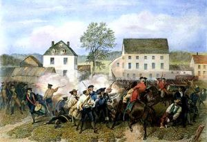 Battle of Lexington and Concord, Collision on Old North Bridge