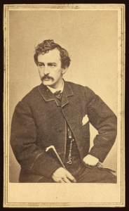 The assassin John Wilkes Booth | Courtesy of the NIH Circulating Now Image Collection