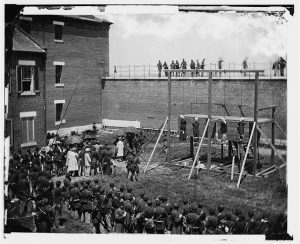 The Conspirators ready for execution | Courtesy of militayhistory.about.com