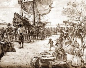 The Birth of Jamestown provided by The National Park Service.