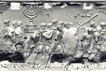 Roman soldiers raid Jerusalem