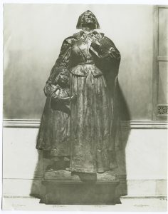 Anne Hutchinson statue | Massachusetts | courtesy of The New York Library Digital Collections