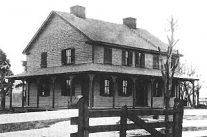 Surratt Tavern | Courtesy of freepages.genealogy. rootsweb.ancestry.com