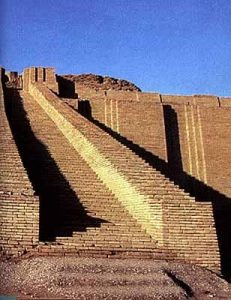 Ziggurat. Temple of Ancient Mesopotamia | courtesy of Meridian Magazine.