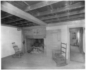 The Old Kitchen in Cottage of John & Abigail Adams | owned by Quincy Historical Society | courtesy of the Library of Congress Digital Collections