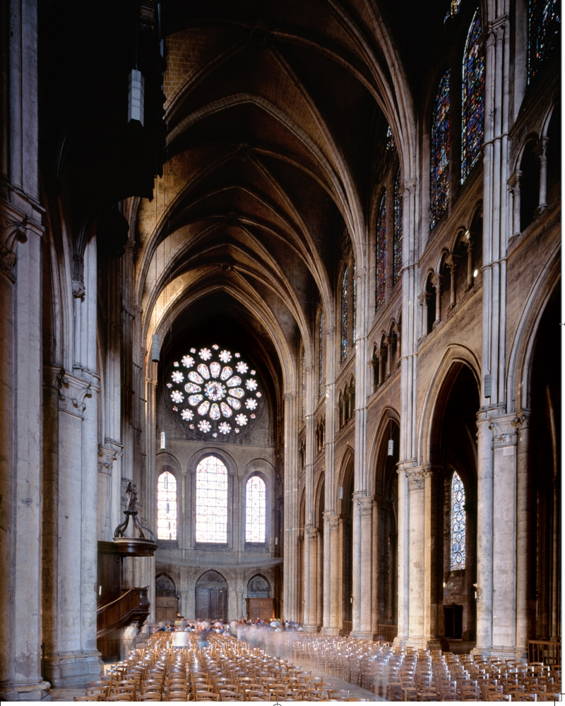 Inside of the Notre Dame Cathedral | Architectural Excellence: 500 Iconic Buildings