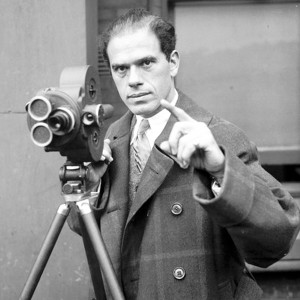Frank Capra behind the camera | Courtesy of classicartfilms.com