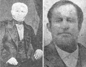 Irish empresarios James Hewetson (left) and James Power (right).