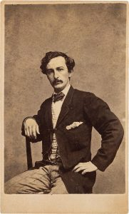John Wilkes Booth | Courtesy of Wikimedia Commons