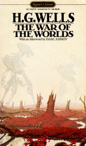 The War of the Worlds book cover | Courtesy of goodreads.com