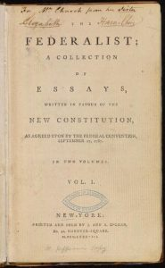 the_federalist_1st_ed_1788_vol_i_title_page_-_02