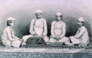 Members of the Brahmin caste studying the Vedas