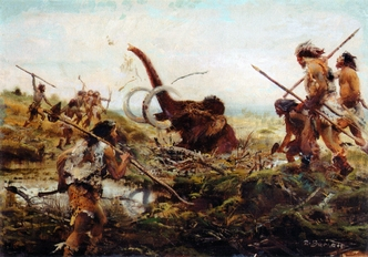 life in the paleolithic age
