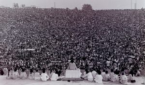 Opening Ceremony of Woodstock 1969 - Courtesy of Wikimedia Commons