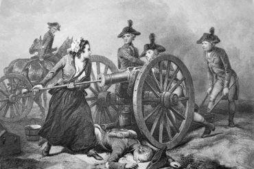 """""""Molly Pitcher at the Battle of Monmouth, 28 June 1778 (Litho)"""". 2014. In Bridgeman Images, edited by Bridgeman Images. London: Bridgeman. http://blume.stmarytx.edu:2048/login?qurl=http%3A%2F%2Fsearch.credoreference.com%2Fcontent%2Fentry%2Fbridgemannew%2Fmolly_pitcher_at_the_battle_of_monmouth_28_june_1778_litho%2F0"""