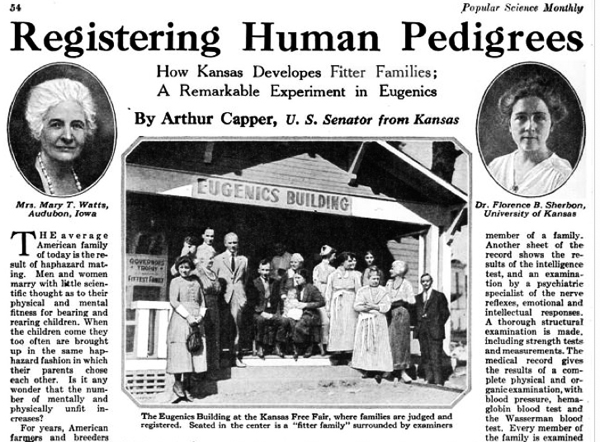 the american eugenics movement The american eugenics movement history and impact i the roots of the eugenics tree a) the combination of rudimentary science and social theory.