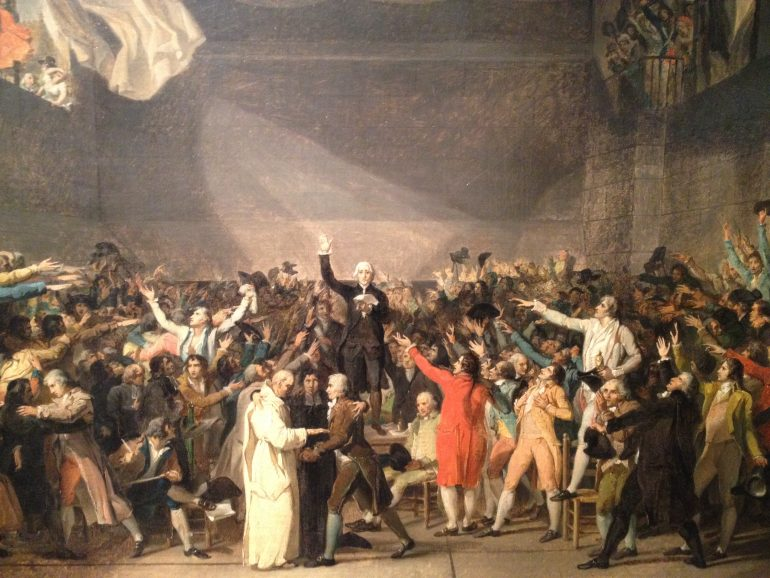 Painting The Town Red Jacques Louis David And Revolutionary France