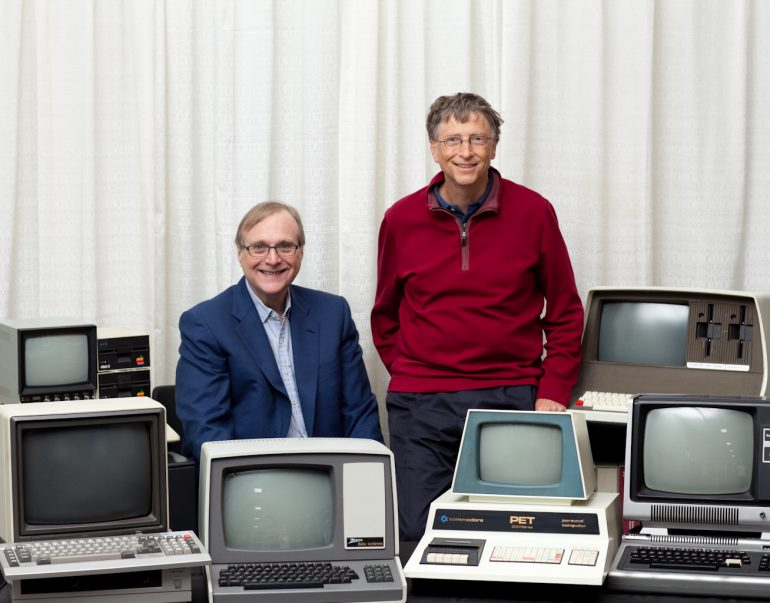 Bill Gates And Paul Allen Recreate The Iconic Microsoft 1981 Picture |  Courtesy Of Forbes  Microsoft Articles Of Incorporation