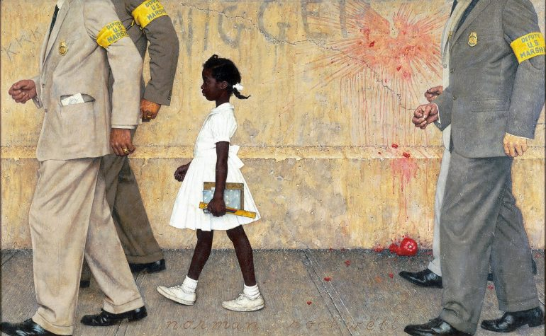 The Young And Courageous Ruby Bridges Stmu History Media