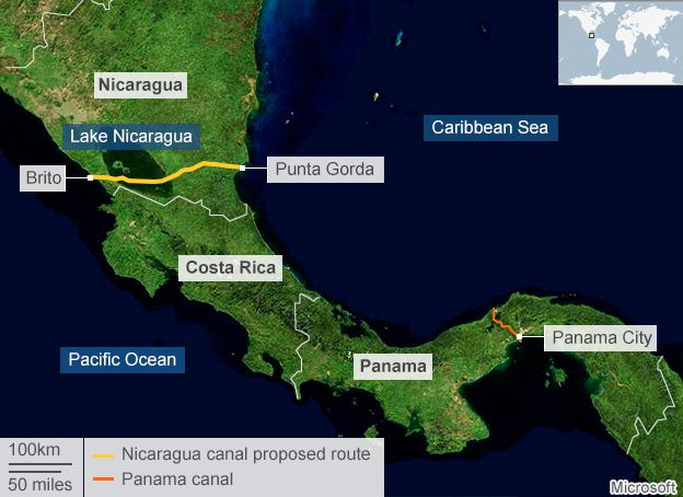 Nicaraguas Inter Oceanic Canal Win Or Loss Stmu History Media