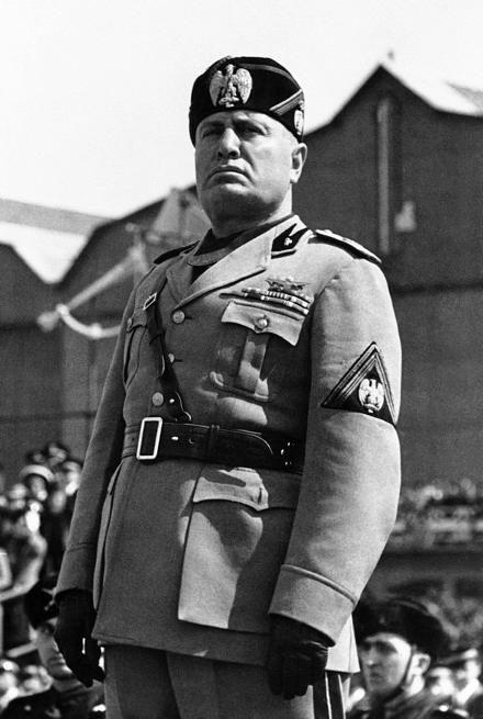 a review of the political life of benito mussolini
