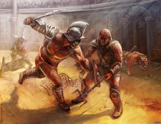a history of roman gladiators and roman tradition of gladiatorial games Roman gladiators occupy a special place in the minds and origins of the games the gladiatorial games as we know them originated out of the art of manliness.