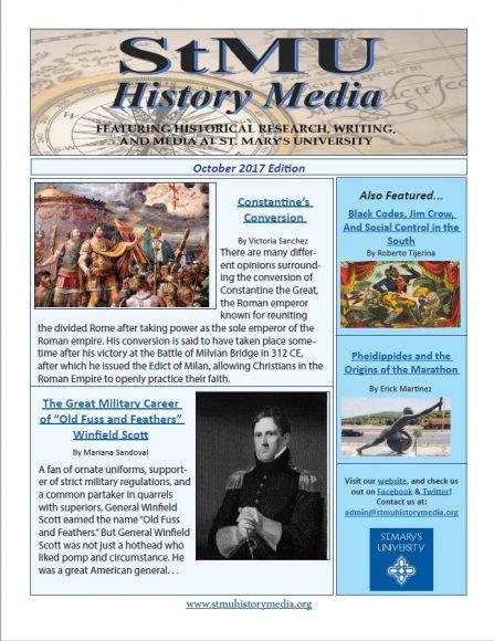 2017 October Newsletter