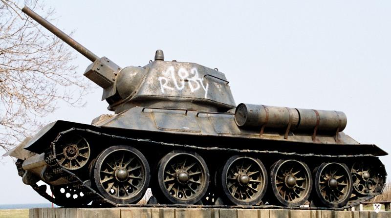 Image of T-34 Tank