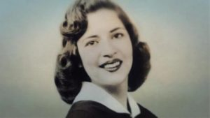 Bader Ginsburg in her high school year book.