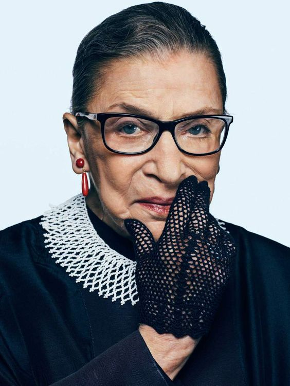Bader Ginsburg in her Dissenting Collar