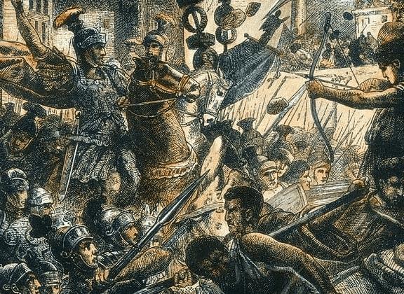 Sulla Fights His Way Into Rome