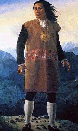 Portrait of Tupac Amaru II