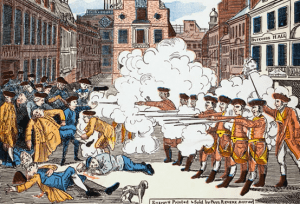 The Bloody Massacre   March 6 1770   Wikicommons