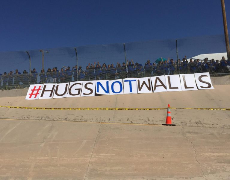 Hugs Not Walls: Reunification of Families on the South Border