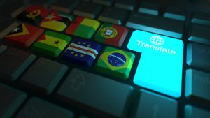 Image of keyboard with translate key