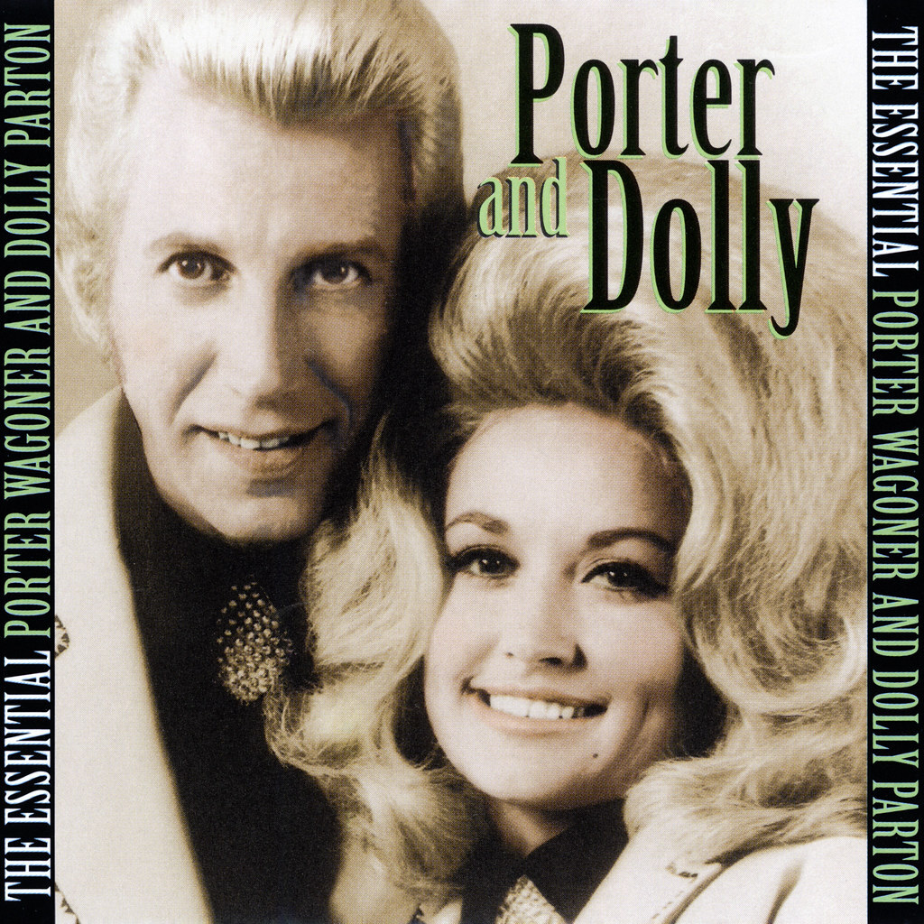 Porter and Dolly on cover of a compilation album