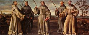 The groups of Franciscans